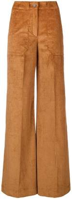 L'Autre Chose flared suit trousers