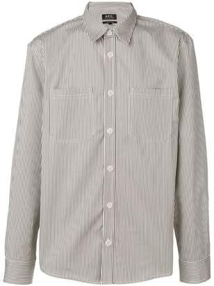 A.P.C. striped shirt