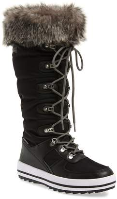 Cougar Vesta Faux Fur Collar Knee High Snow Boot