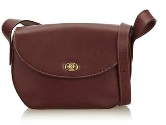 Cartier Vintage Leather Must De Crossbody