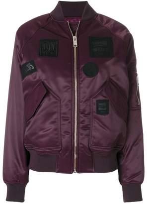 Versus patch bomber jacket