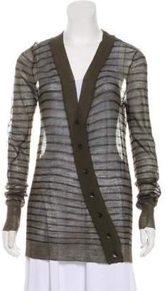 A.L.C. Semi-Sheer Knit Cardigan