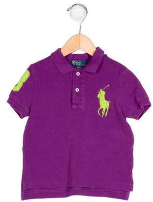 Polo Ralph Lauren Boys' Embroidered Polo Shirt