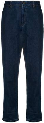 Miu Miu classic rolled-up jeans