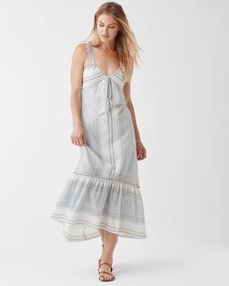 Splendid Tulum Stripe Tie Dress