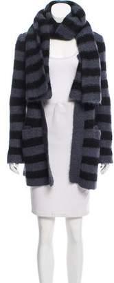 Sonia Rykiel Striped Long Sleeve Cardigan