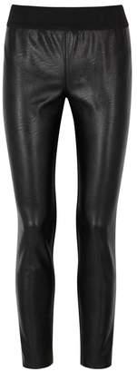 Stella McCartney Darcelle Black Faux Leather Leggings