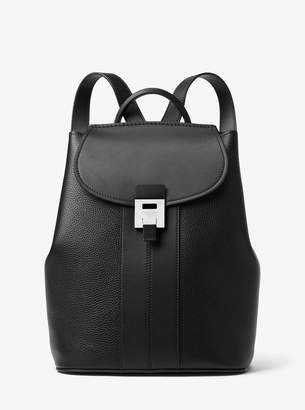 Michael Kors Bancroft Pebbled Calf Leather Backpack