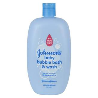 Johnson's Baby Bubble Bath & Wash 828 mL