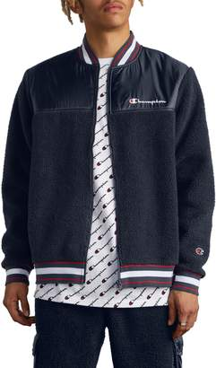 Champion Fleece Baseball Jacket