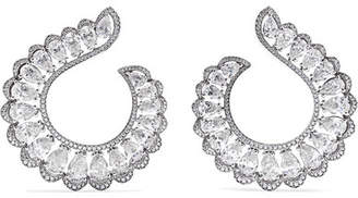 Chopard 18-karat White Gold Diamond Earrings