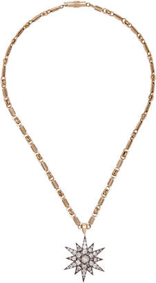 Chloé Toni + Goutal Gold Diamond Necklace