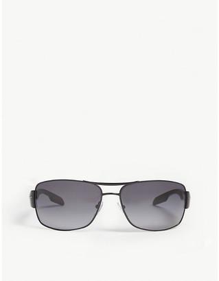 Prada Linea Rossa Linea Rossa square frame sunglasses
