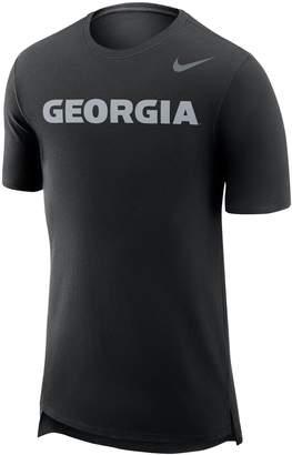 Nike Men's Georgia Bulldogs Enzyme Droptail Tee