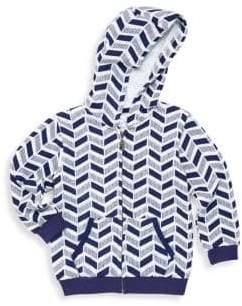 Petit Lem Baby's Printed Zip-Front Hoodie