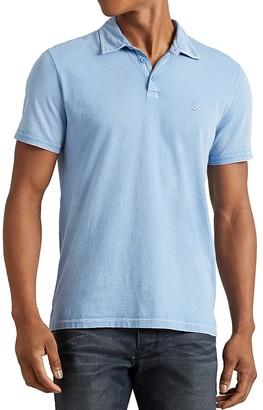 John Varvatos Star USA Aged Regular Fit Polo Shirt $88 thestylecure.com