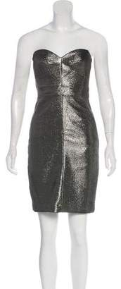 Trina Turk Strapless A-Line Dress