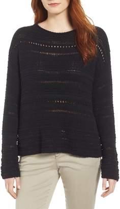 Caslon Pointelle Sweater