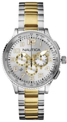 Nautica Men's N26532M OCN 38 MID Br. Chronograph Watch