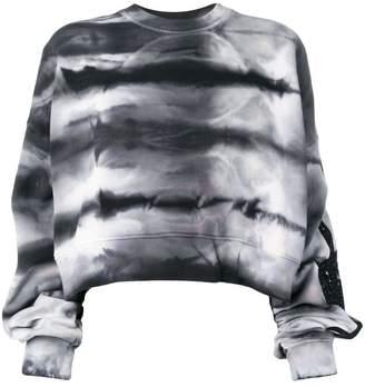 Amiri tie-dye print sweater