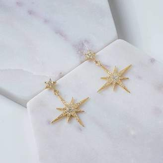 77806a04c Petite Star Latelita London Burst Drop Earring Gold