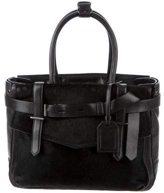 Reed Krakoff Ponyhair & Leather Boxer Bag