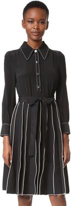Marc Jacobs Paneled A Line Dress $825 thestylecure.com