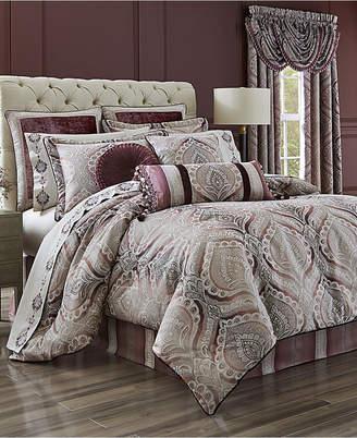 J Queen New York Gianna Quartz 4-Pc. Queen Comforter Set
