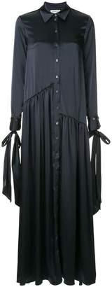 Osman buttoned maxi dress