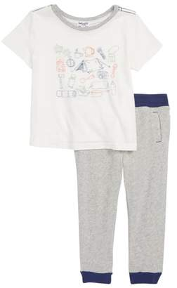 Splendid (スプレンディッド) - Splendid Camping Graphic T-Shirt & Pants Set