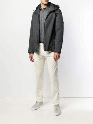 Pt01 corduroy fitted trousers