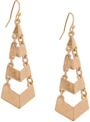 Crown Vintage Cutout Tier Drop Earrings - Women's