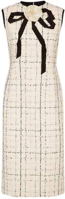 Gucci Tweed Midi Dress