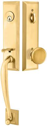 Rejuvenation Adams Exterior Tubelatch Door Set with Providence Knob