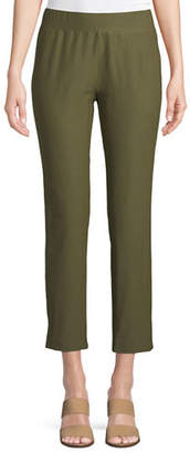 Eileen Fisher Washable Stretch Crepe Cropped Pants