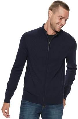 Marc Anthony Men's Slim-Fit Full-Zip Mockneck Sweater