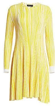 Calvin Klein Women's Knit Crewneck Dress