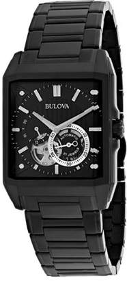 Bulova 98A180 Men's Automatic 49mm Analog Display Stainless Steel Watch