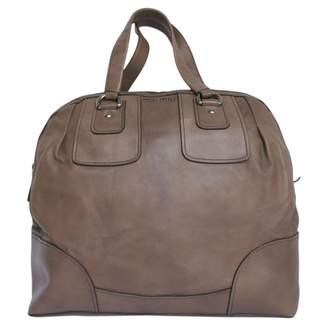 Miu Miu Brown Leather Travel bag