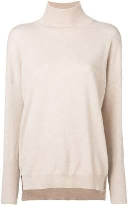 Agnona cashmere turtleneck jumper