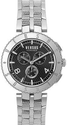Versus S76140017 Logo Chrono stainless steel watch