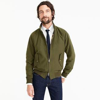 Baracuta for J.Crew G9 Harrington jacket in olive