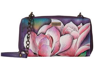 Anuschka 1144 ZIP AROUND RFID CROSSBODY CLUTCH