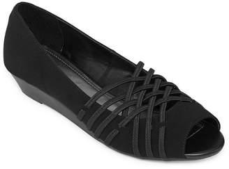 East Fifth east 5th Womens Grace Slip-On Shoe Open Toe