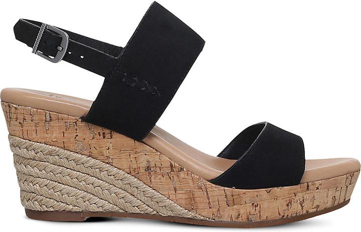 UGGUgg Elena nubuck wedge heels