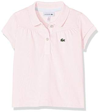 Lacoste Girl's PJ2801 Polo Shirt,(Manufacturer Size: 3A)