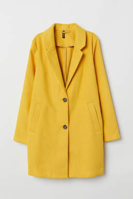 H&M Coat - Yellow