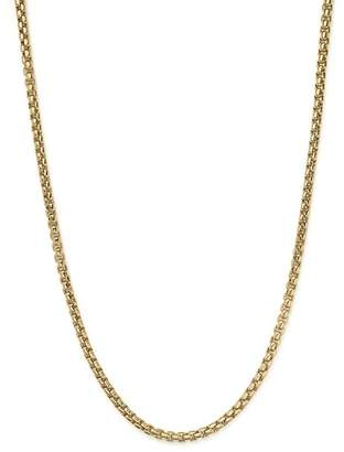 "Bloomingdale's Box Link Necklace in 14K Yellow Gold, 20"" - 100% Exclusive"