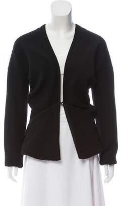 Zero Maria Cornejo Asymmetrical Knit Cardigan