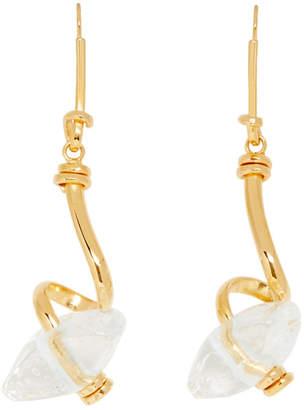 Marni Transparent Glass Earrings